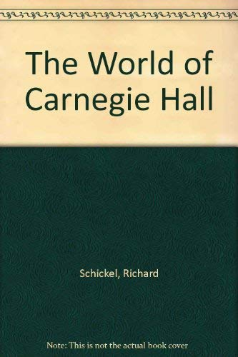9780837169460: The World of Carnegie Hall.