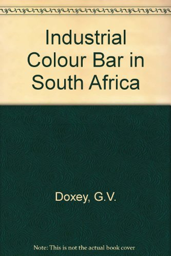 9780837170992: Industrial Colour Bar in South Africa