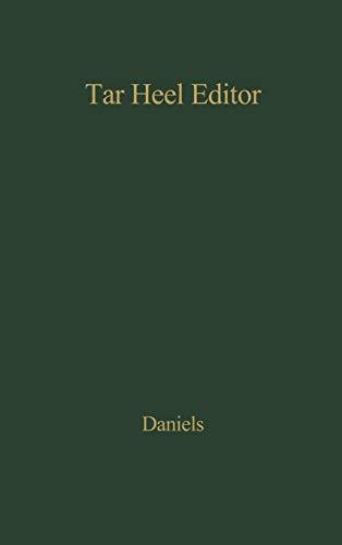 9780837174402: Tar Heel Editor.
