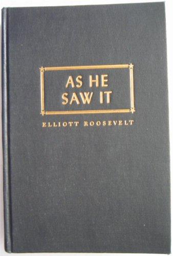 9780837176093: As He Saw It