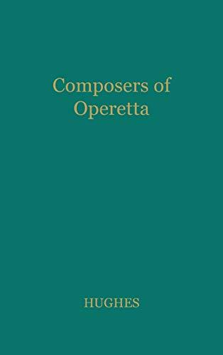 9780837176123: Composers of Operetta.