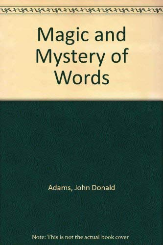 9780837176864: Magic and Mystery of Words