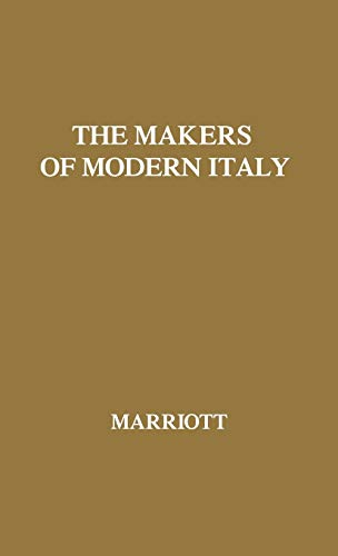 9780837179360: The Makers of Modern Italy: Napoleon--Mussolini