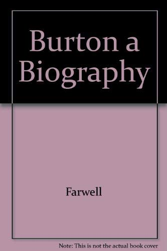 9780837180564: Burton a Biography