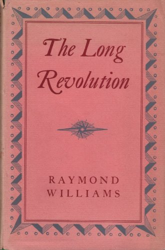 The Long Revolution (0837182441) by Williams, Raymond