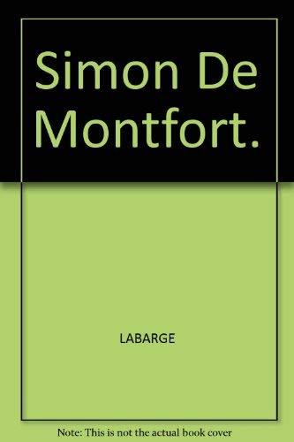 9780837183596: Simon de Montfort
