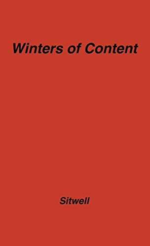 9780837185705: Winters of Content: And Other Discursions on Mediterranean Art and Travel