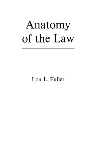 9780837186221: Anatomy of the Law