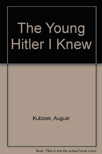 9780837186641: The Young Hitler I Knew