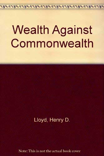 9780837187266: Wealth against Commonwealth.