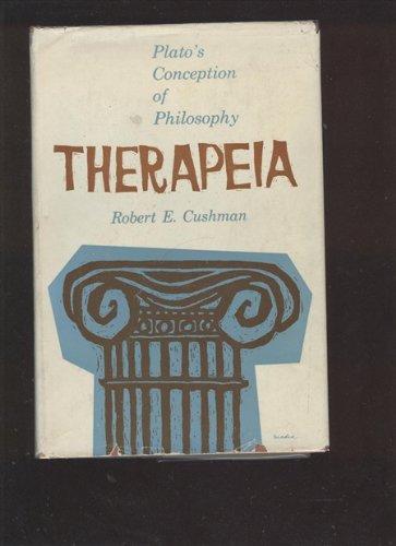 9780837188799: Therapeia: Plato's Conception of Philosophy