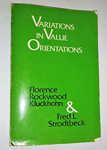 9780837189864: Variations in Value Orientations
