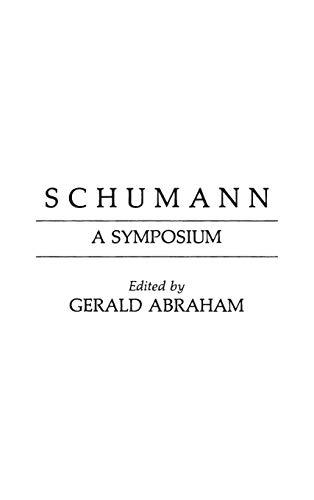 9780837190501: Schumann: A Symposium