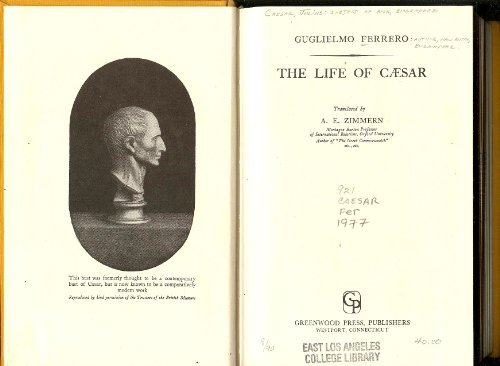 9780837190907: The Life of Caesar