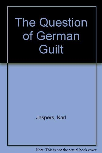 9780837193052: The Question of German Guilt