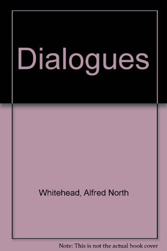 9780837193410: Dialogues of Alfred North Whitehead