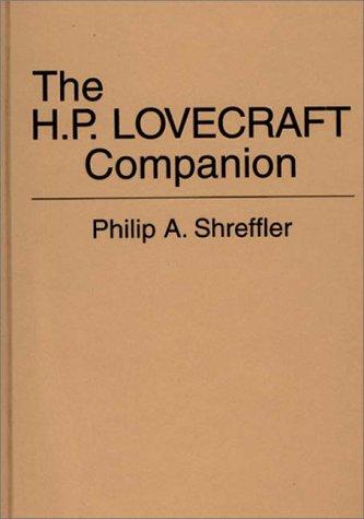 9780837194820: The H. P. Lovecraft Companion