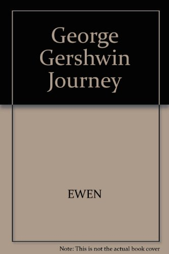 9780837196633: George Gershwin Journey