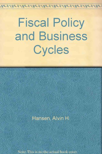 9780837197302: Fiscal Policy and Business Cycles