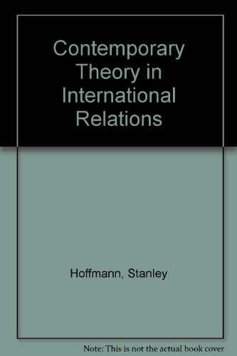 9780837197500: Contemporary Theory in International Relations