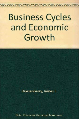 9780837197517: Business Cycles and Economic Growth
