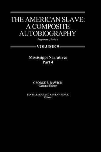 9780837197692: The American Slave-Mississippi Narratives
