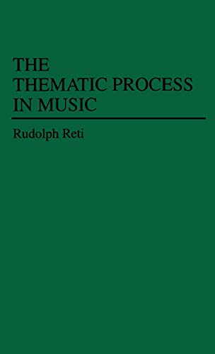 9780837198750: Thematic Process in Music
