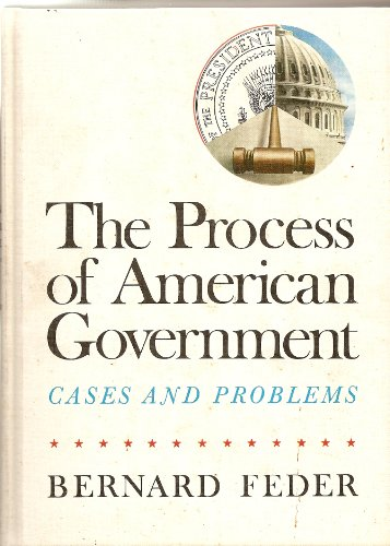 9780837299150: Process of American Government: Cases and Problems