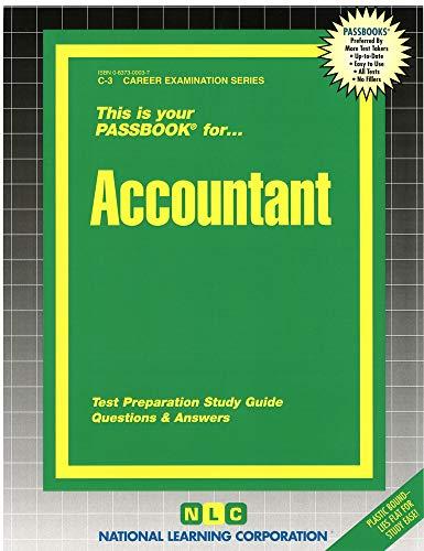 9780837300030: Accountant: C-3 Career Examination Series