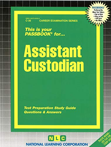 9780837300351: Assistant Custodian(Passbooks) (Career Examination Series : C-35)