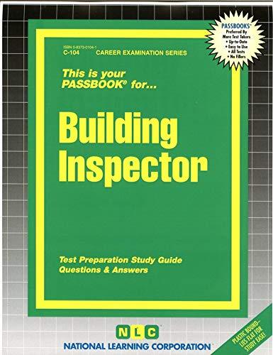 9780837301044: Building Inspector(Passbooks) (Career Examination Series : C 104)