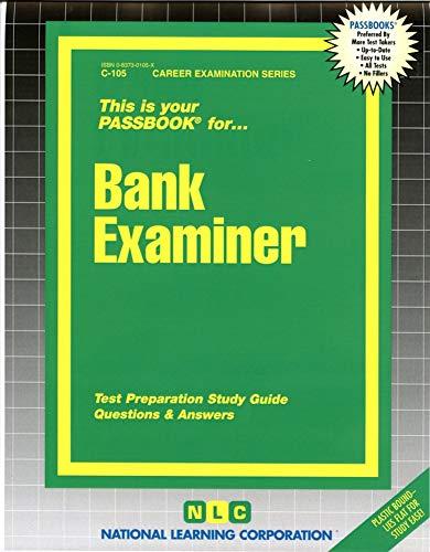 9780837301051: Bank Examiner(Passbooks) (C-105)