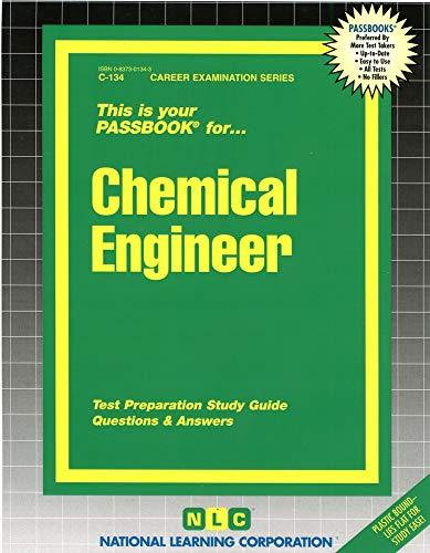 9780837301341: Chemical Engineer(Passbooks) (Passbook for Career Opportunities)