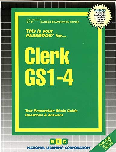 9780837301440: Clerk GS1-4(Passbooks)