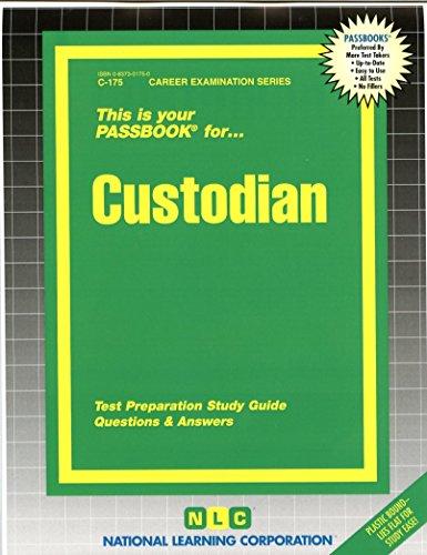 9780837301754: Custodian(Passbooks) (Career Examination Passbooks)