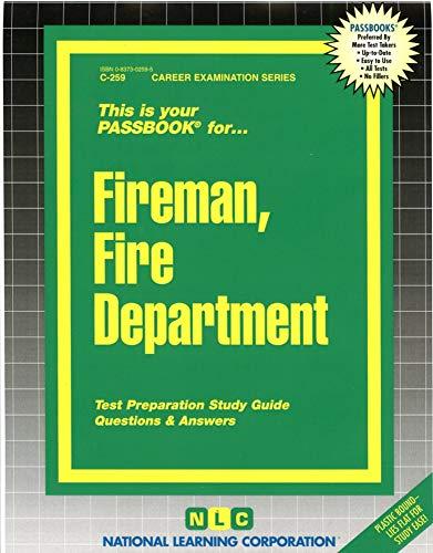 9780837302591: Fireman, Fire Department(Passbooks) (Career Examination Passbooks)