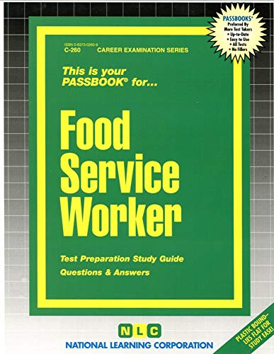 9780837302607: Food Service Worker(Passbooks) (Pass Book Ser)