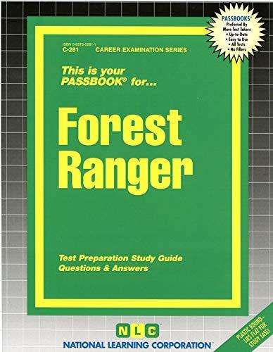 9780837302812: Forest Ranger(Passbooks) (Career Examination Series : C-281)
