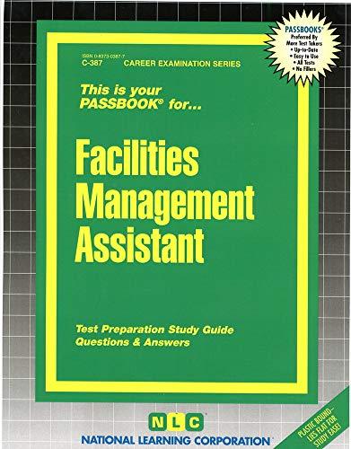 9780837303871: Facilities Management Assistant(Passbooks)