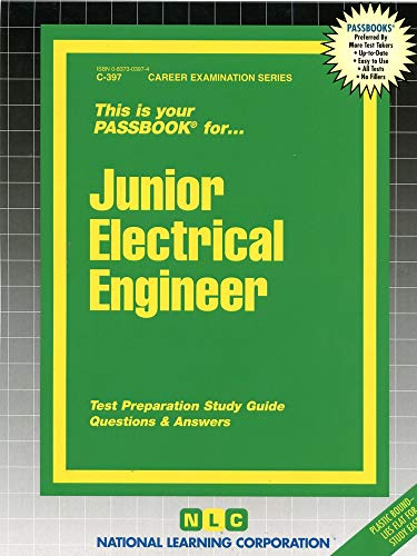 9780837303970: Junior Electrical Engineer(Passbooks) (Career Examination Passbooks)