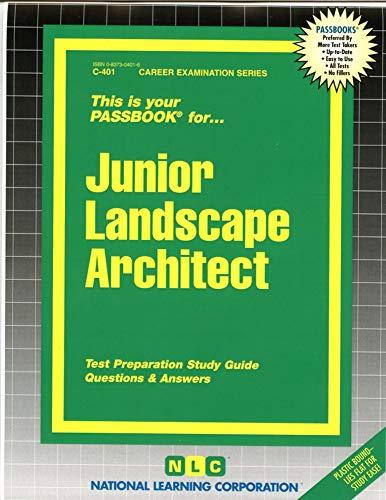 9780837304014: Junior Landscape Architect(Passbooks) (Career Examination Series/C-401)