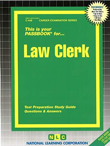 9780837304489: Law Clerk(Passbooks)