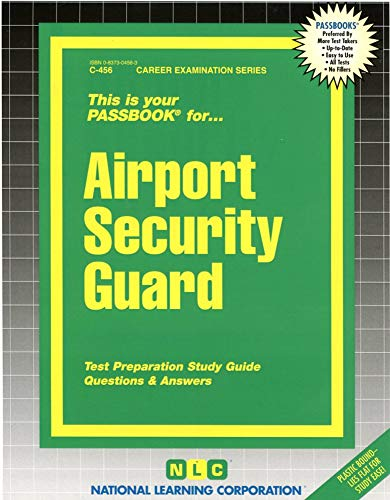 9780837304564: Airport Security Guard(Passbooks)