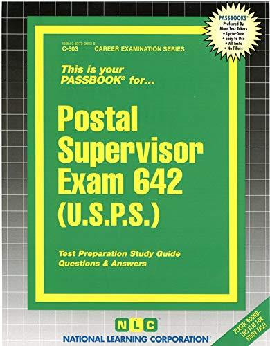 9780837306032: Postal Supervisor Exam 642 (U.S.P.S.) (Passbooks)