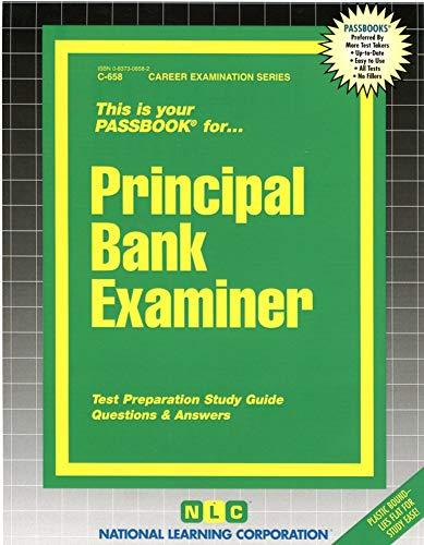 9780837306582: Principal Bank Examiner(Passbooks)