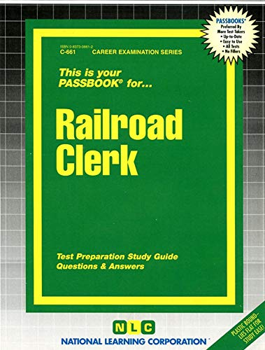 Passbooks For Career Opportunities: Railroad Clerk.: The Staff Of