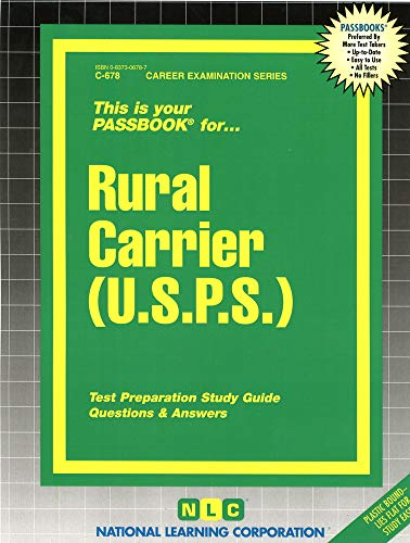 Rural Carrier: United States Postal Service (C-678): National Learning Corporation