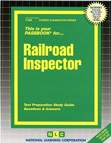 9780837306858: Railroad Inspector(Passbooks) (Passbook for Career Opportunities)