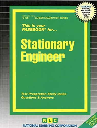 9780837307589: Stationary Engineer(Passbooks)