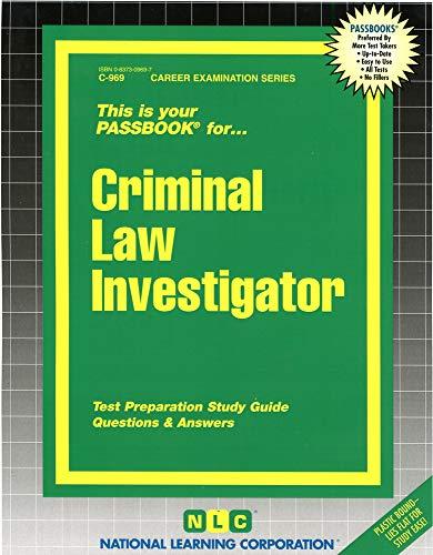Criminal Law Investigator: Jack Rudman